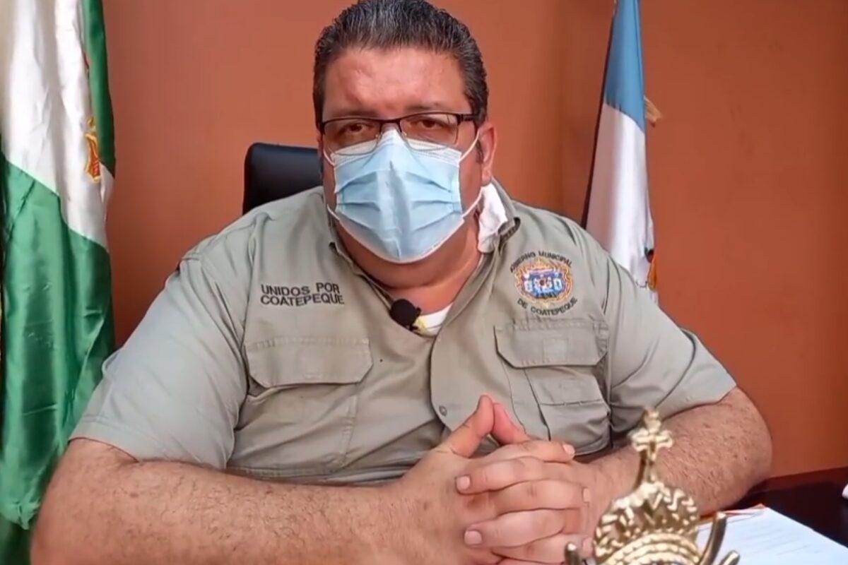 Alcalde de Coatepeque desmiente que haya sufrido un infarto e indica que se encuentra bien de salud