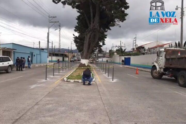 Suspenden parte de obras en ciclovía en zona 3 de Xela por desacuerdo con vecinos