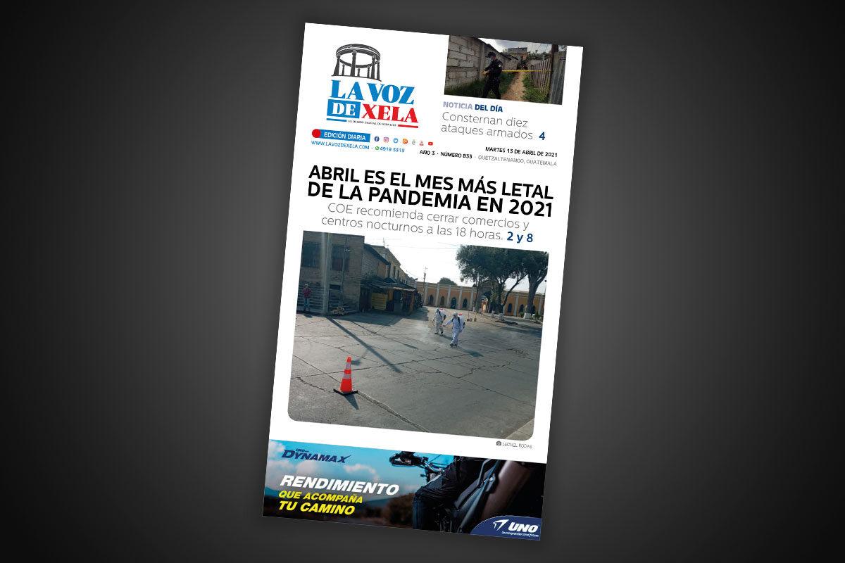 Lee el diario digital del martes 13 de abril | #833