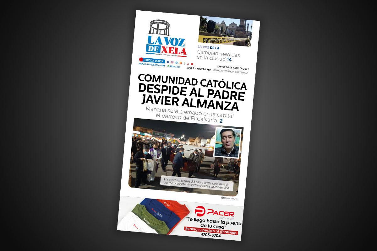 Lee el diario digital del martes 20 de abril | #839