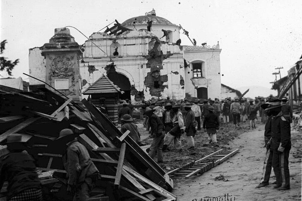 Se cumplen 119 años del terremoto que devastó a Quetzaltenango