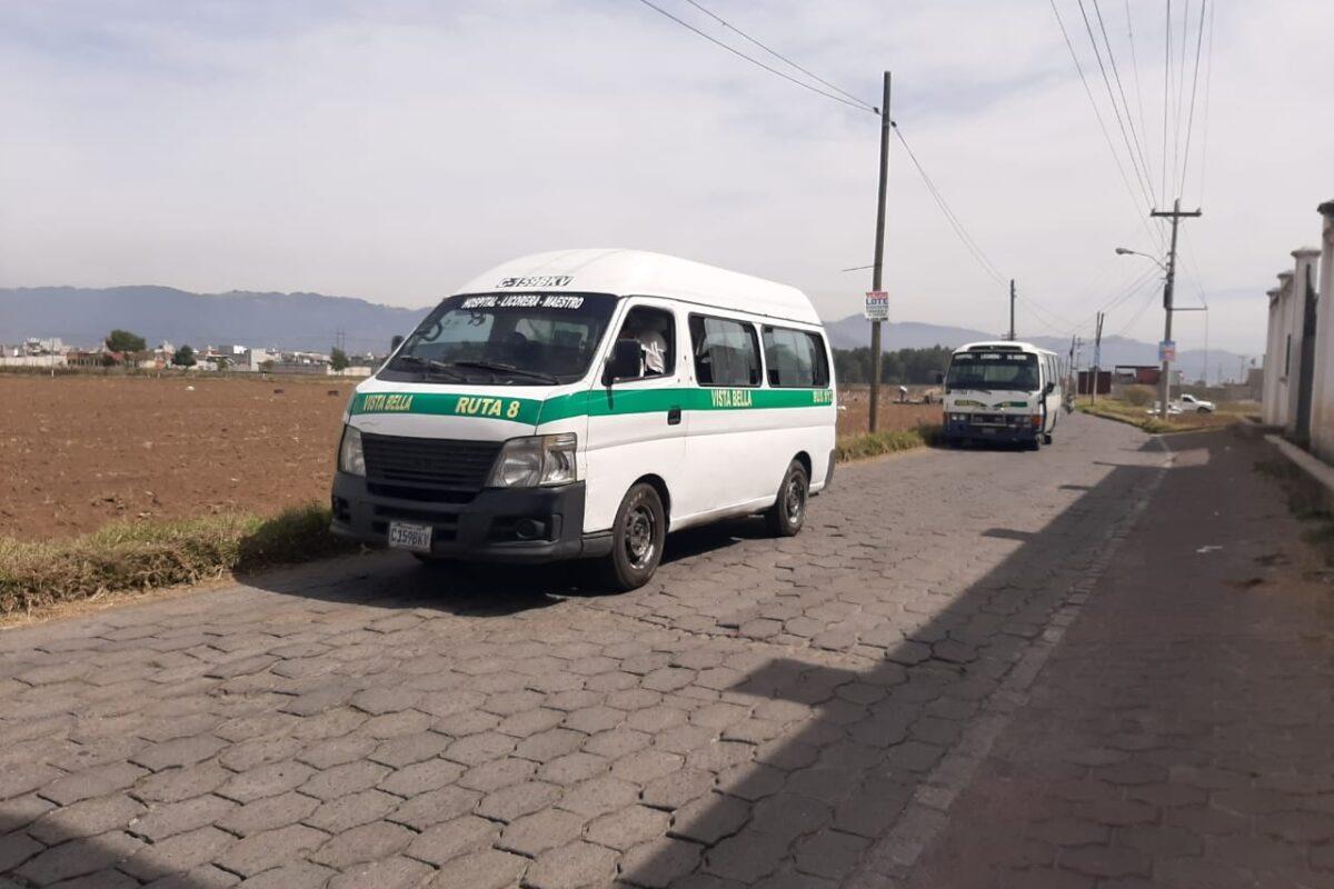 Transportistas contemplan aumento de pasaje debido a nuevas restricciones por covid-19 en Guatemala