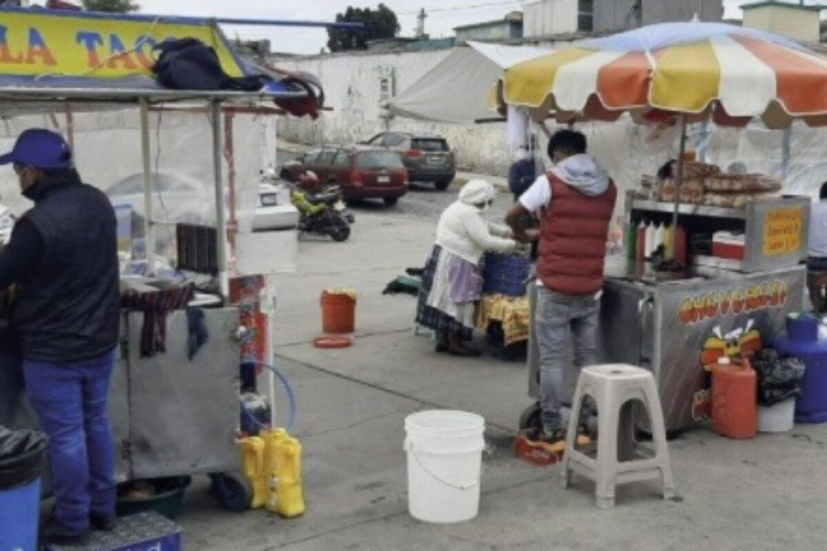 Disminuyen ingresos por ventas en comida callejera en Xela tras implementación de medidas anticovid