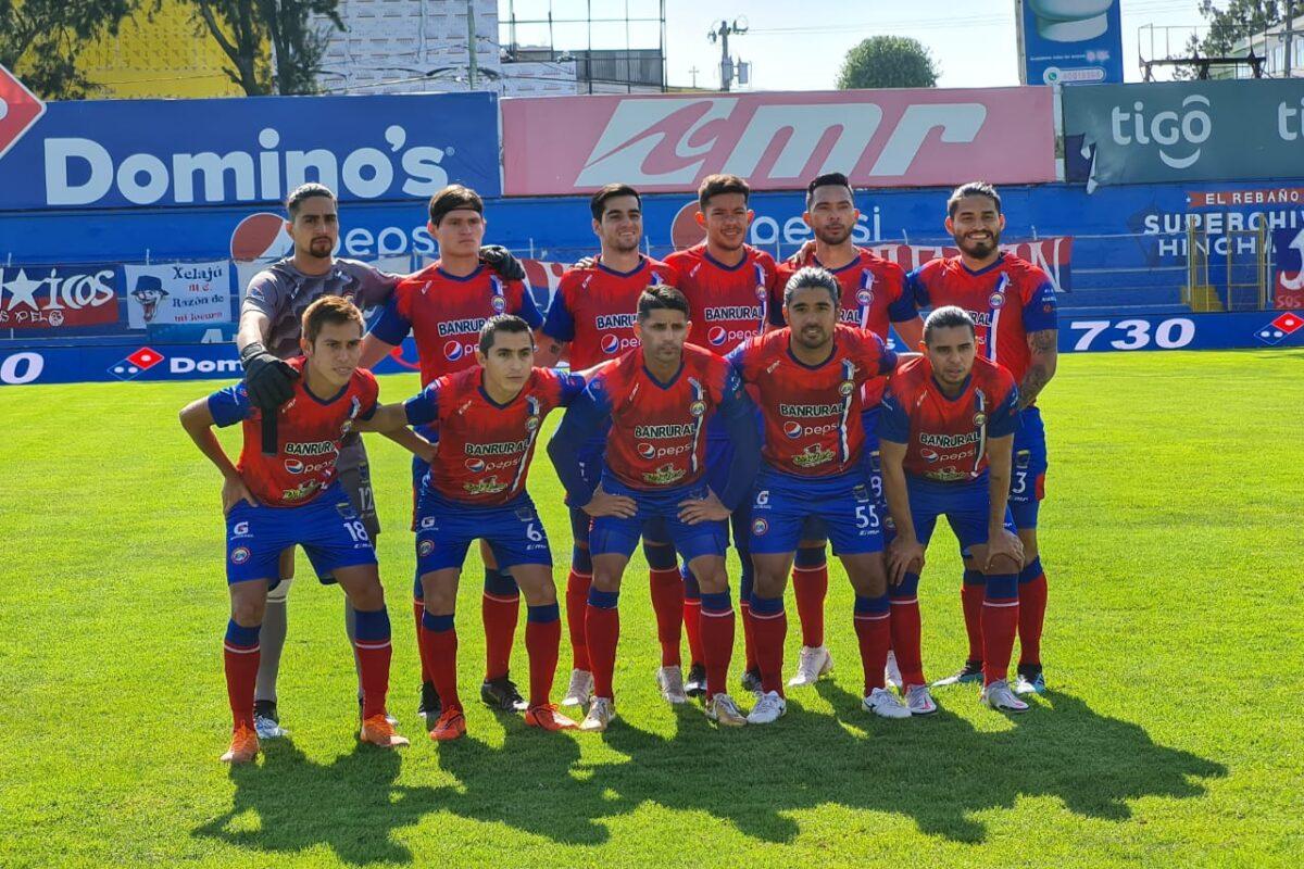 Xelajú juega hoy el penúltimo partido de la fase de clasificación