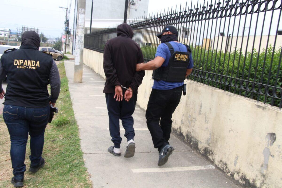 Capturan a presunto sicario de la mara 18 en Quetzaltenango