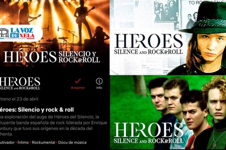 """A 17 días del estreno de """"Héroes: Silencio y Rock & roll"""""""