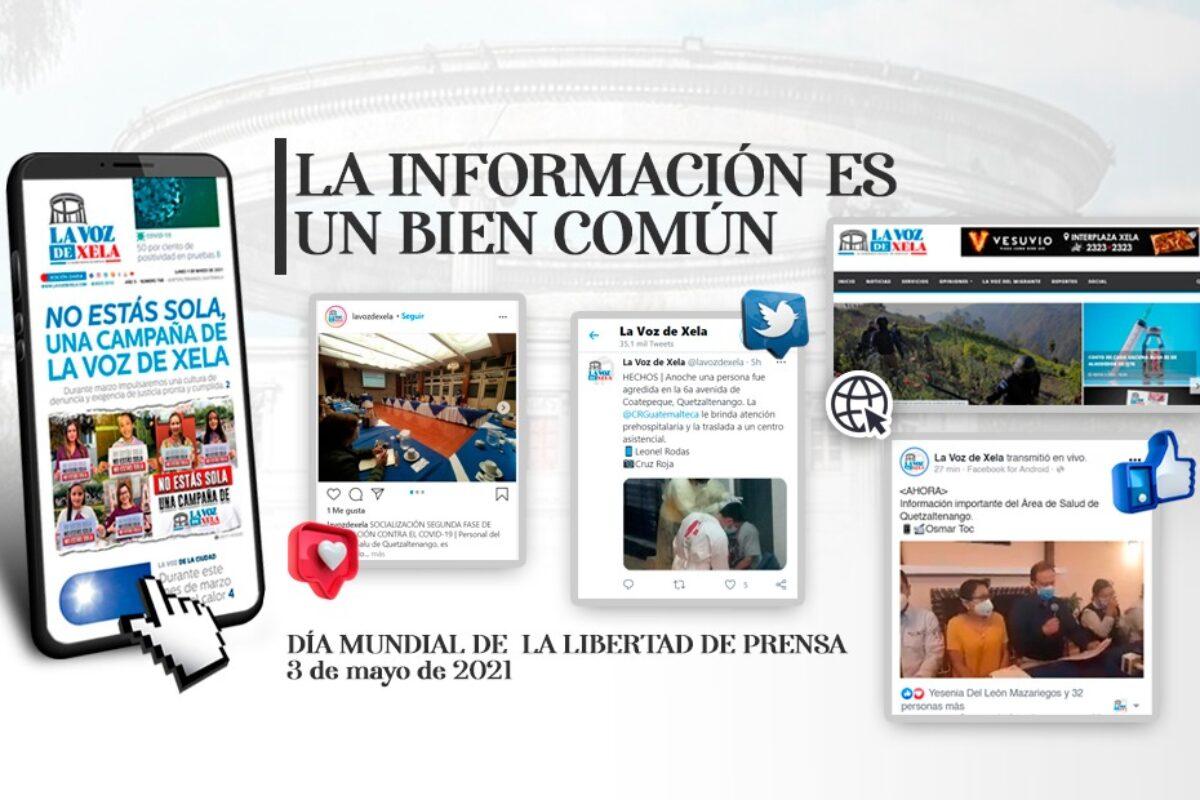 Día de la Libertad de Prensa 2021: «La información como un bien común»