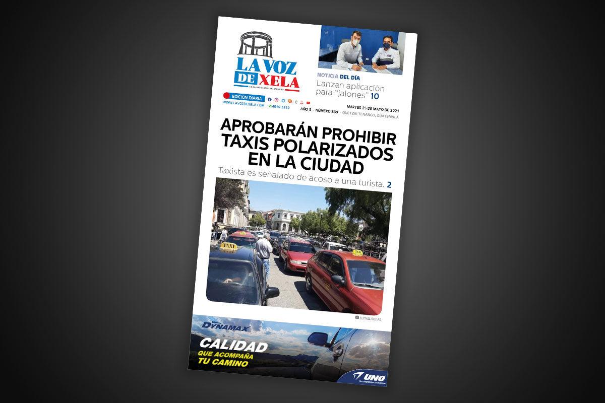 Lee el diario digital del martes 25 de mayo | #869