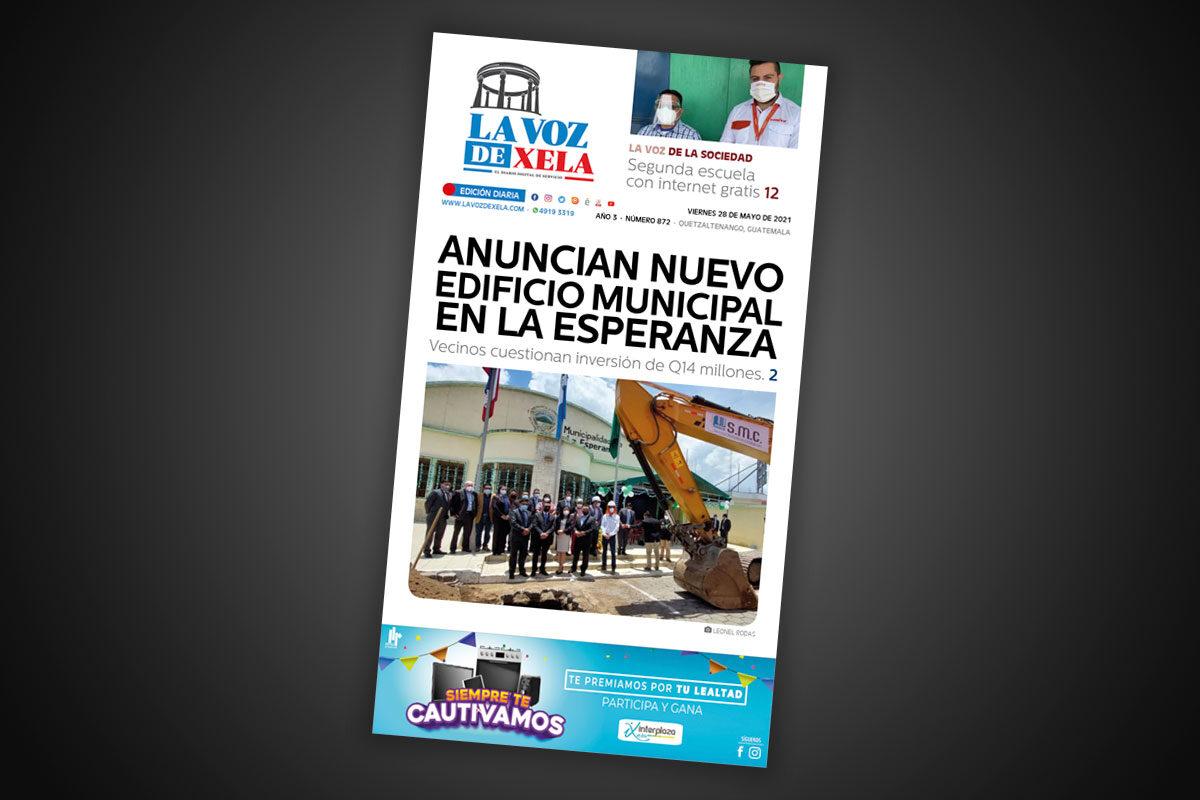 Lee el diario digital del viernes 28 de mayo | #872
