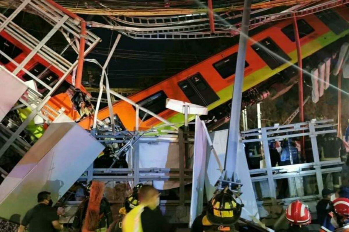 Al menos 50 heridos en accidente de tren en México