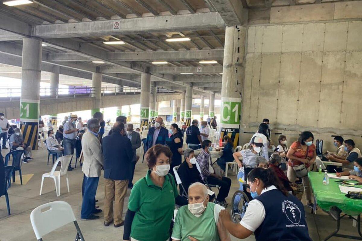 Guatemala a punto de alcanzar el cuarto de millón de vacunados contra el Covid-19