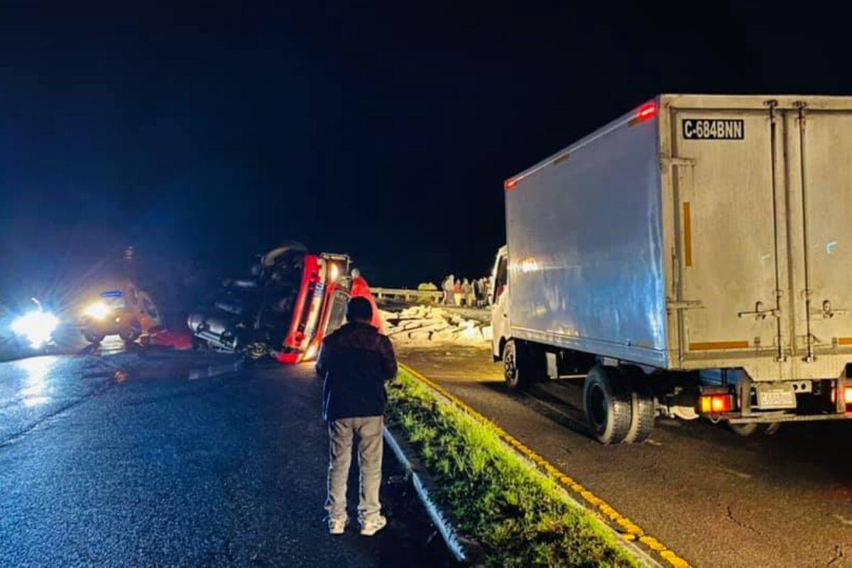 DETALLES   Se registra accidente en el kilómetro 181