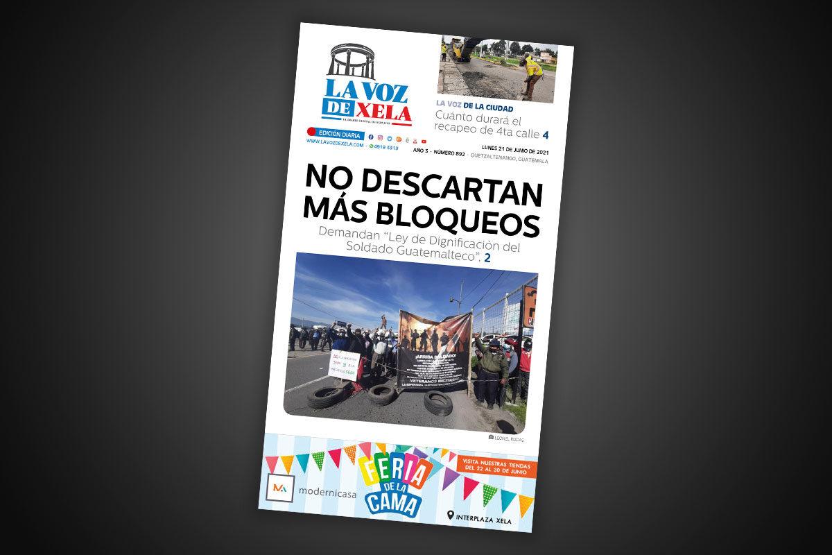 Lee el diario digital del lunes 21 de junio | #892