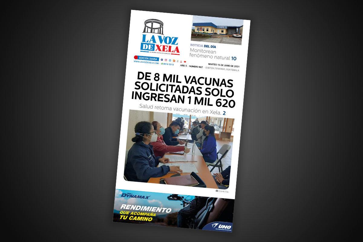 Lee el diario digital del martes 15 de junio | #887