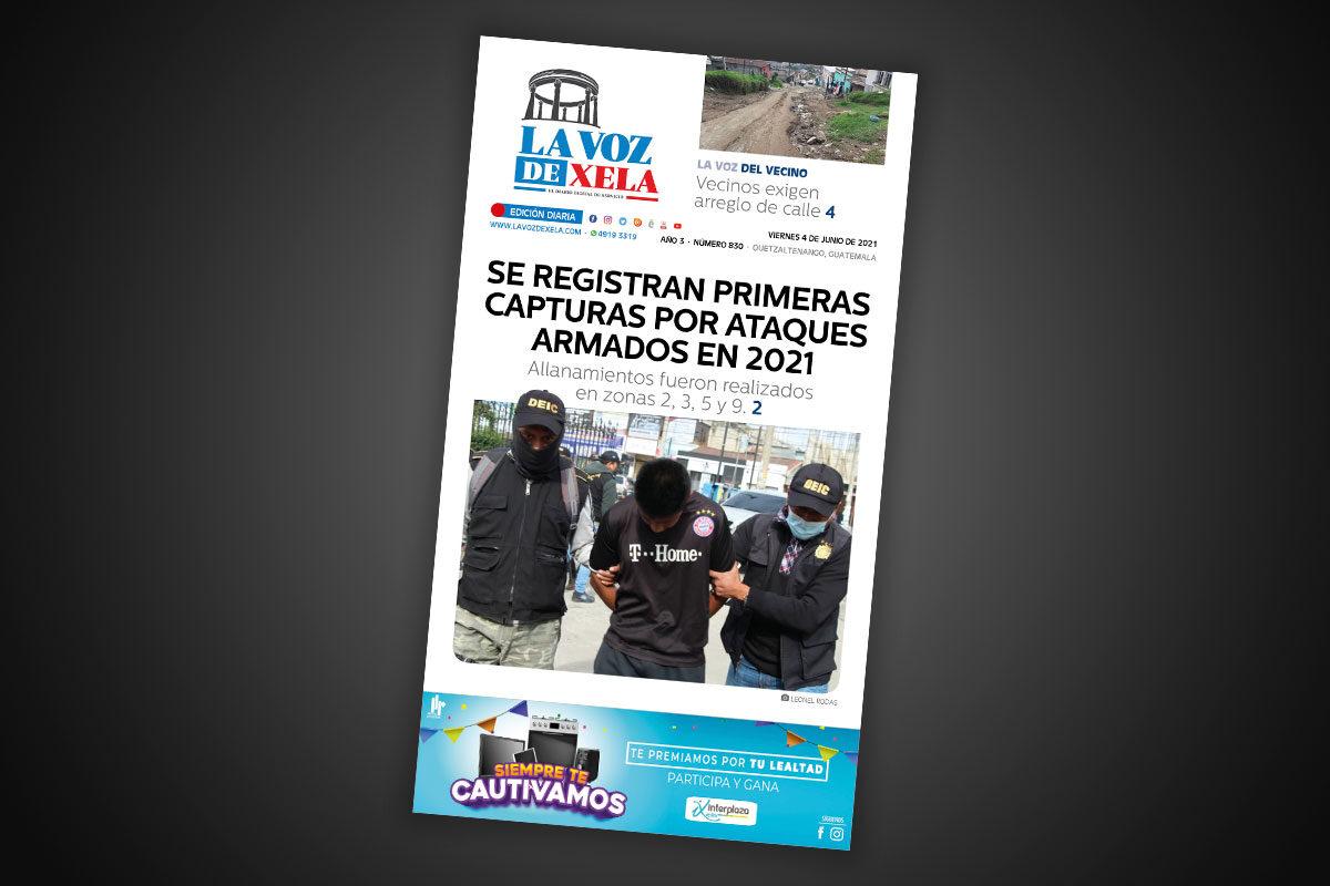 Lee el diario digital del viernes 4 de junio | #878