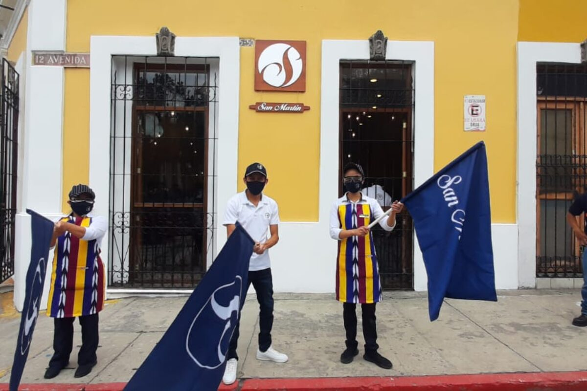 DETALLES | San Martín llega al corazón de Xela