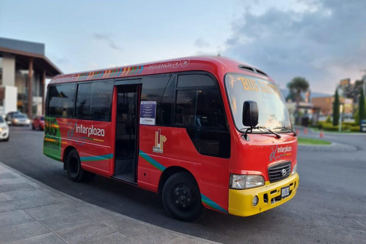 Estos son los horarios del Bus Cautivante que te lleva gratis a Interplaza Xela
