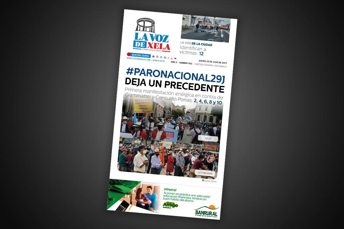 Lee el diario digital del jueves 29 de julio | #925