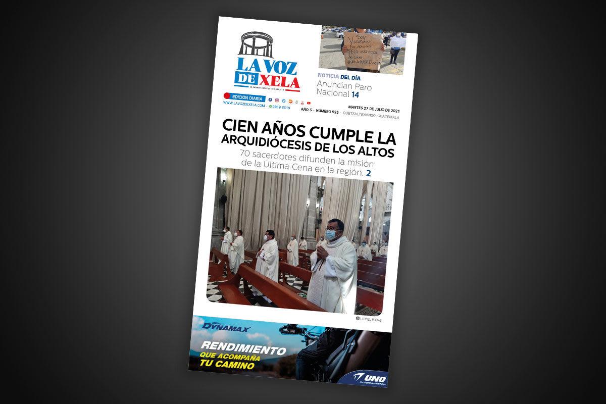 Lee el diario digital del martes 27 de julio | #923