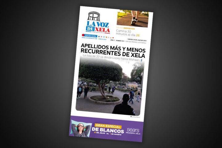 Lee el diario digital del sábado 24 de julio | #921