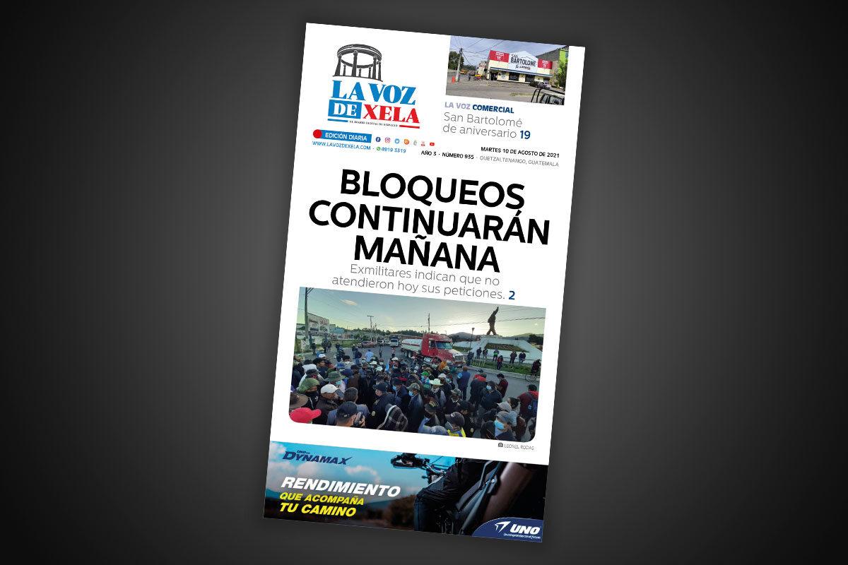 Lee el diario digital del martes 10 de agosto | #935