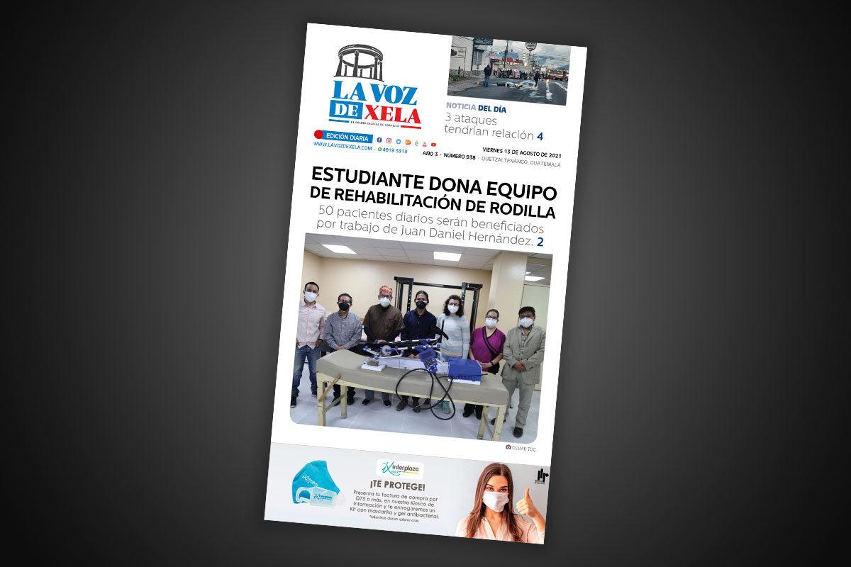 Lee el diario digital del viernes 13 de agosto | #938