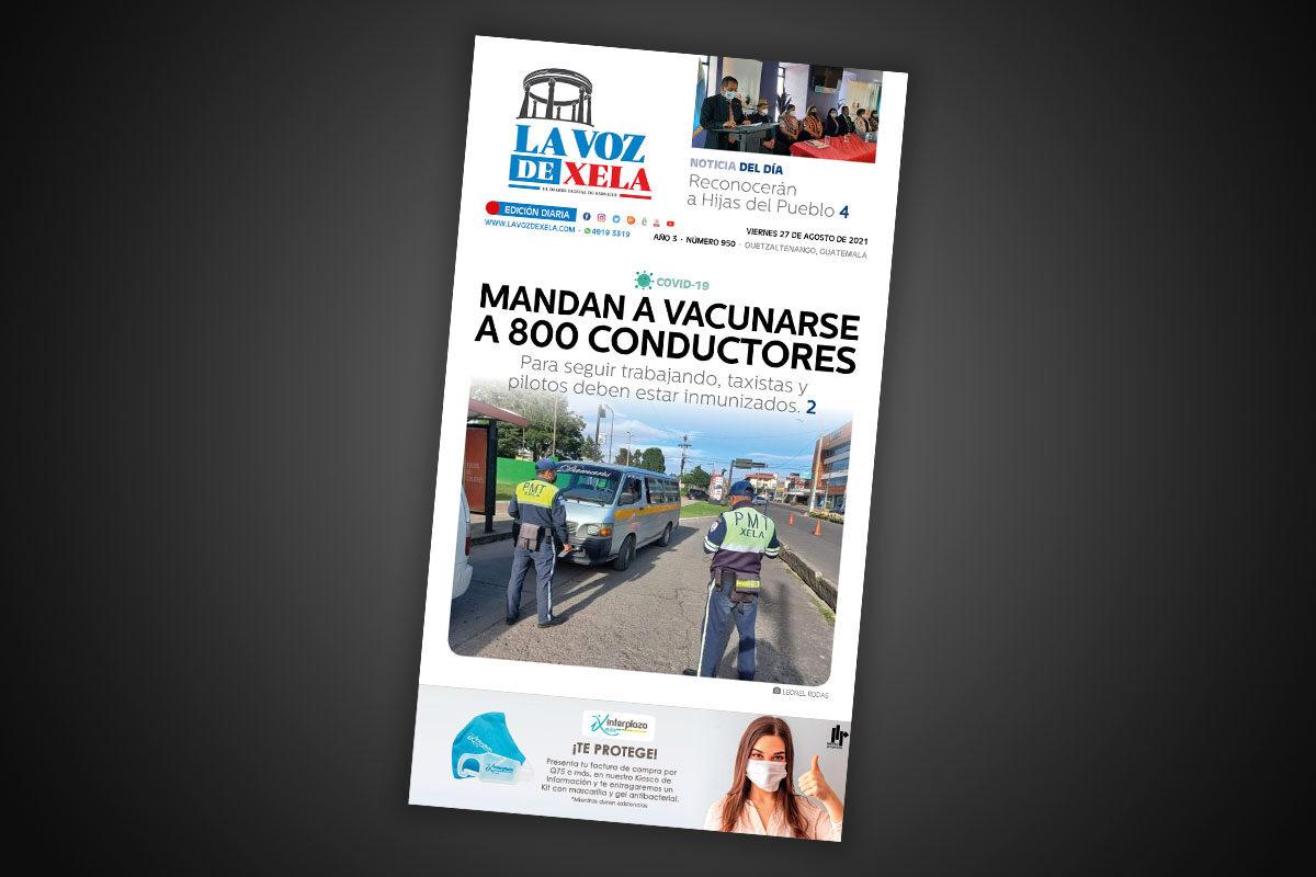 Lee el diario digital del viernes 27 de agosto | #950