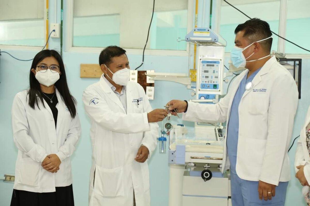 Hospital Regional de Quetzaltenango abre intensivo para niños
