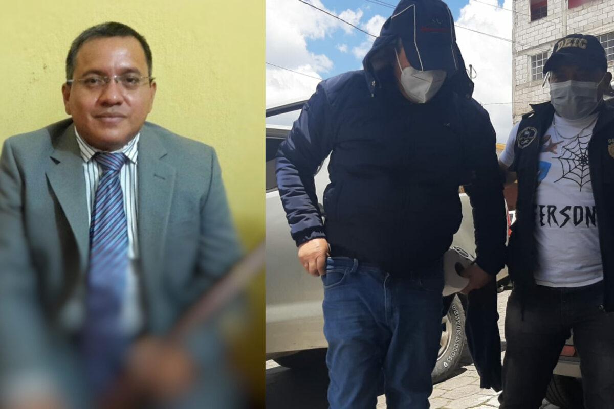 Capturan a exalcalde de San Felipe, Retalhuleu, por delito de trata de personas
