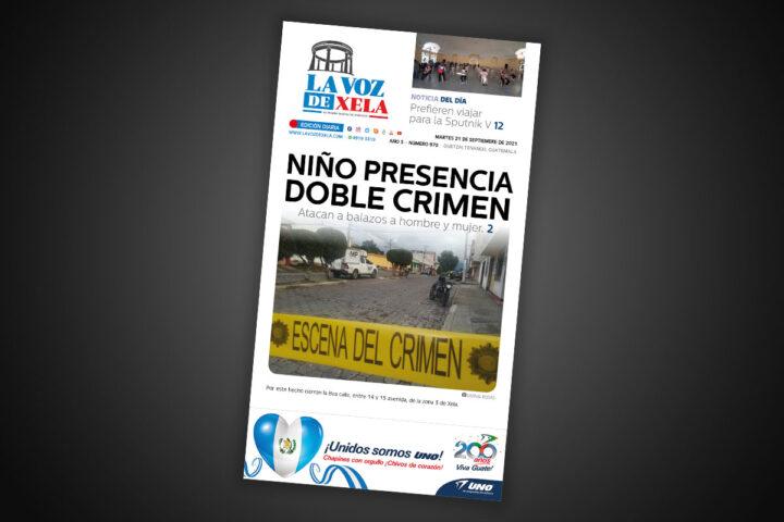 Lee el diario digital del martes 21 de septiembre | #970