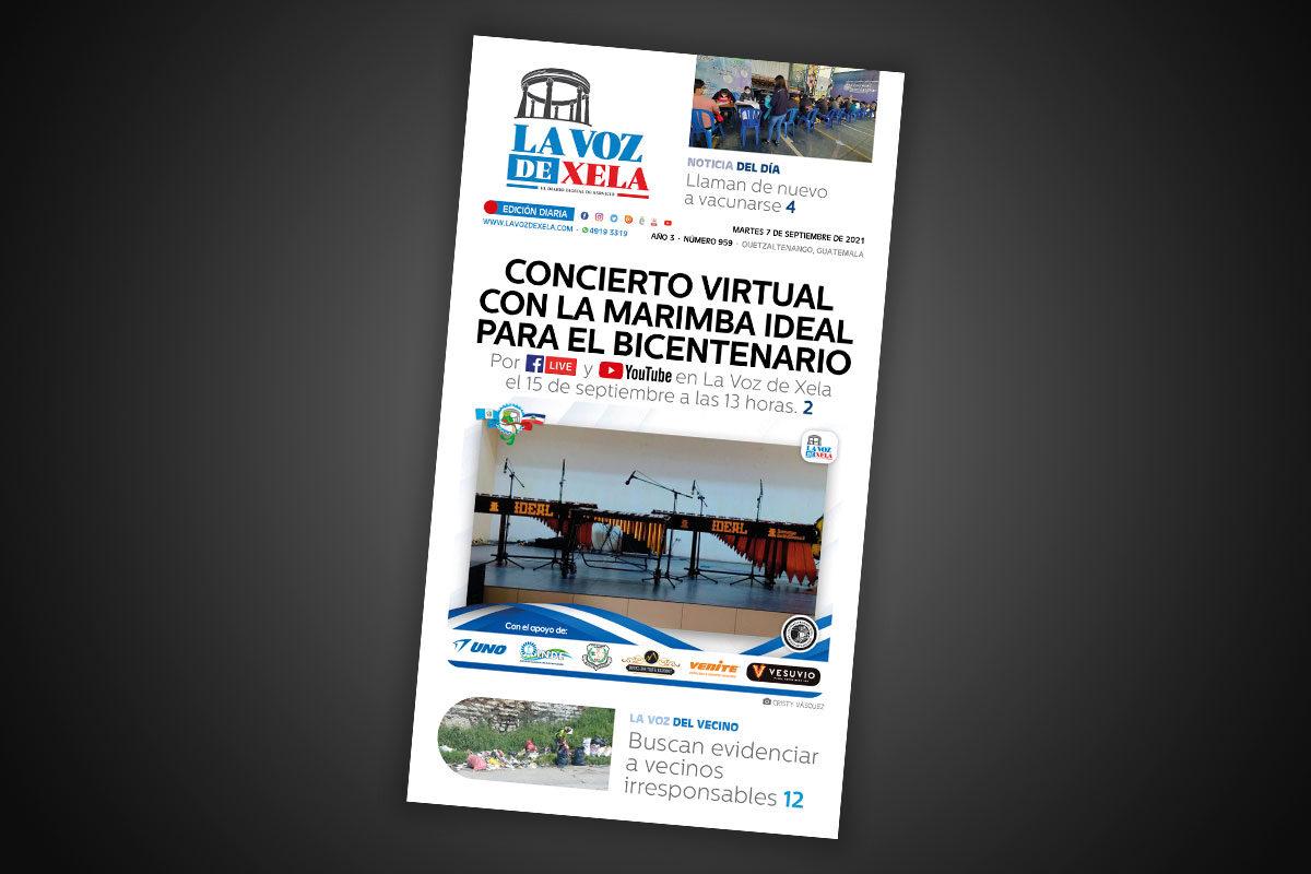 Lee el diario digital del martes 7 de septiembre | #959