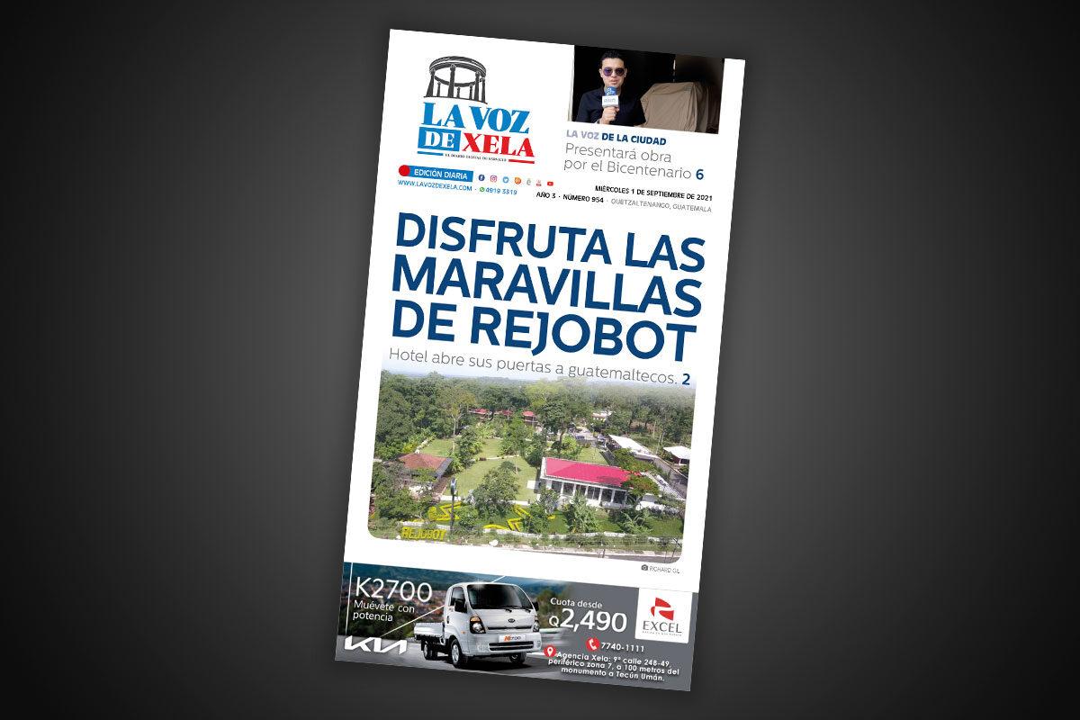 Lee el diario digital del miércoles 1 de septiembre | #954