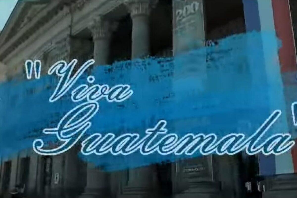 ¡Viva Guatemala! la canción hecha en Xela en honor a la patria