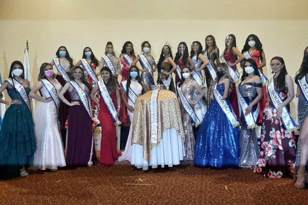 Candidatas a «Reina Nacional de Independencia Bicentenario» visitan Quetzaltenango