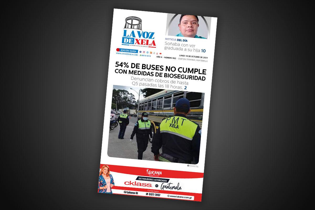 Lee el diario digital del lunes 18 de octubre | #992