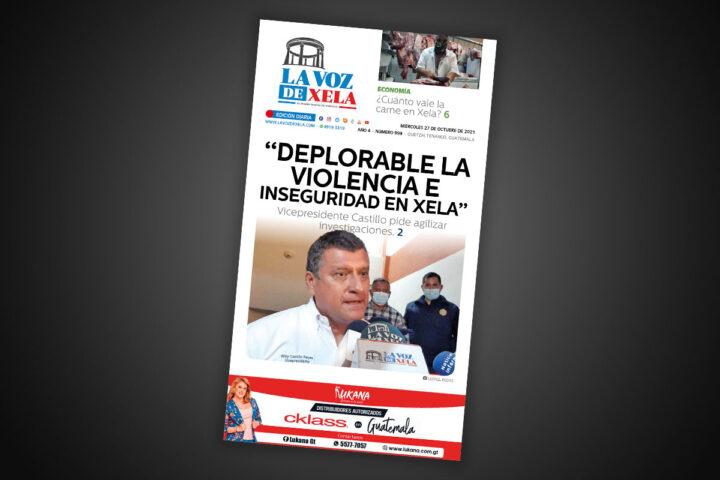 Lee el diario digital del miércoles 27 de octubre | #999