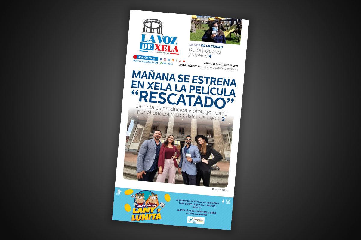 Lee el diario digital del viernes 22 de octubre | #995