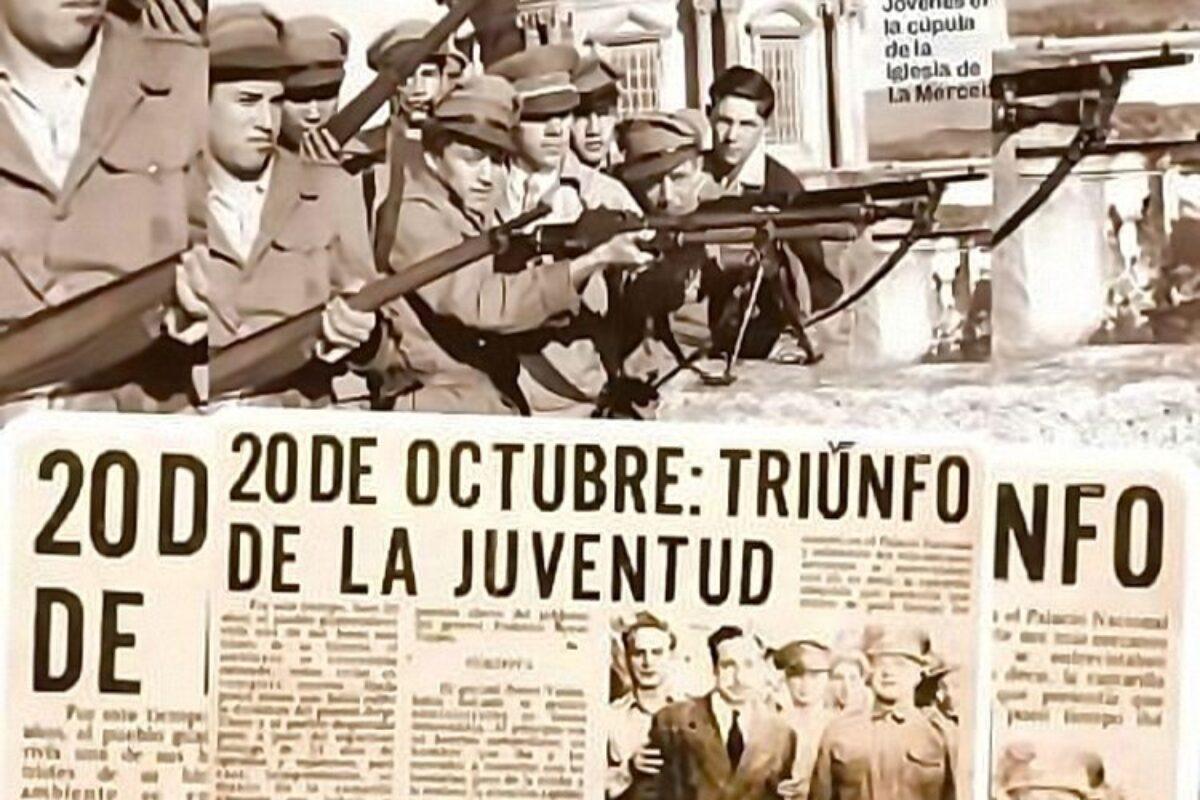 APRENDE   Datos sobre la Revolución del 20 de octubre