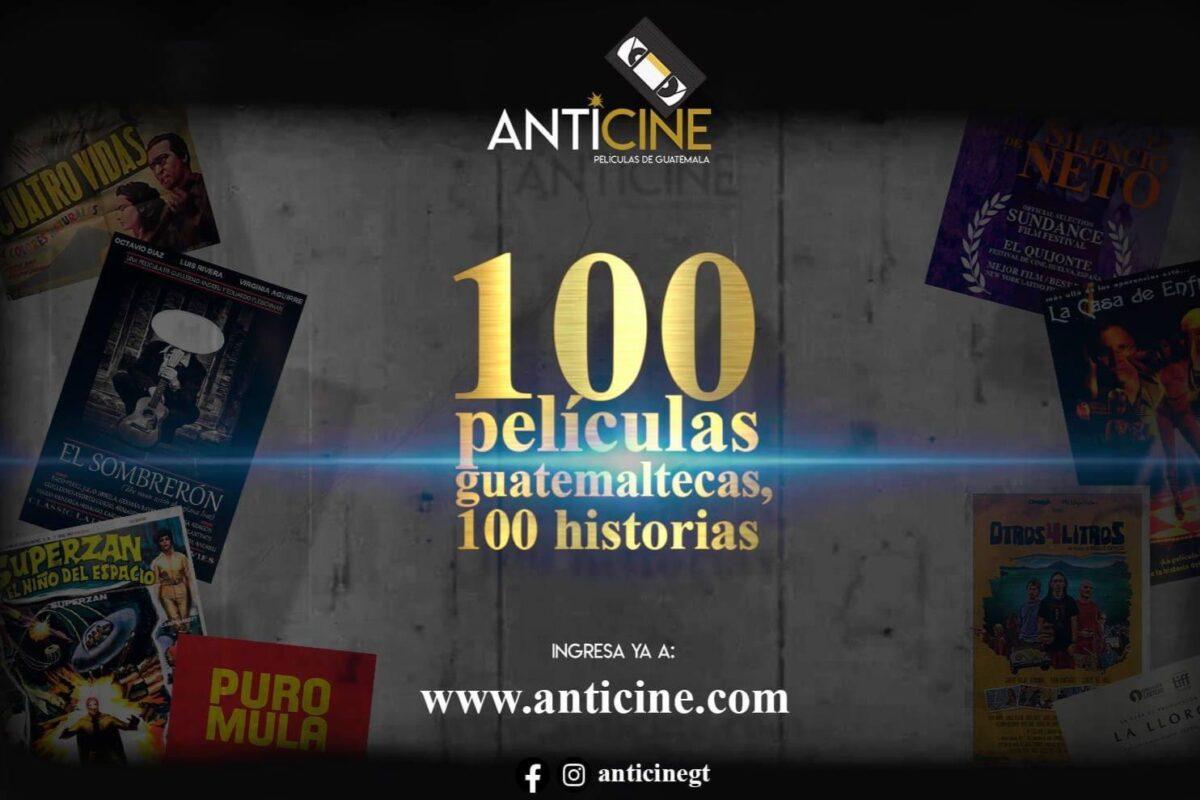 Anticine; la página web que busca difundir el cine guatemalteco