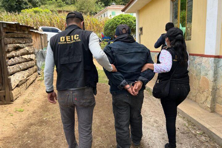 Capturado en allanamiento en San Miguel Siguilá