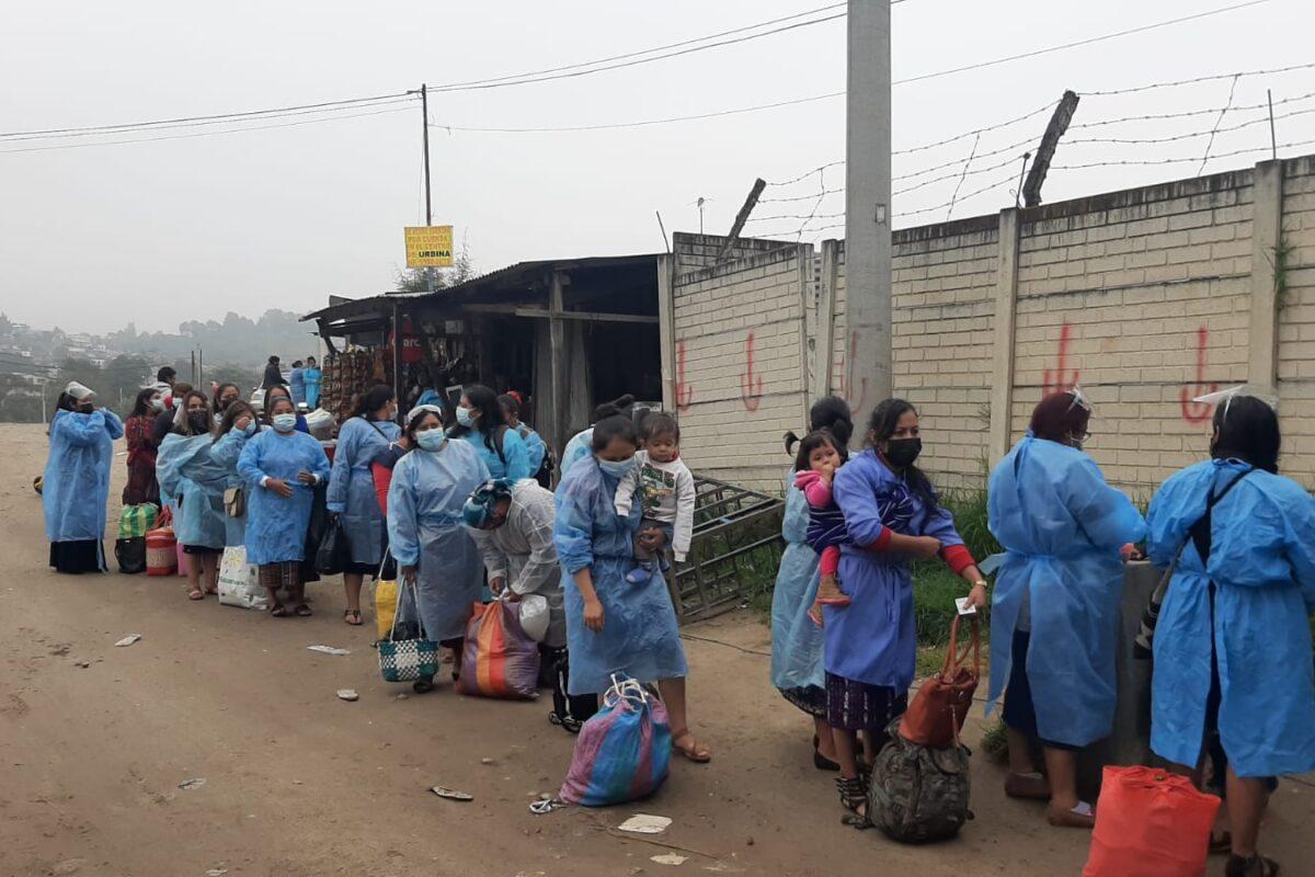 PNC inicia operativo de alto impacto para lograr capturas en ingreso a Granja Penal