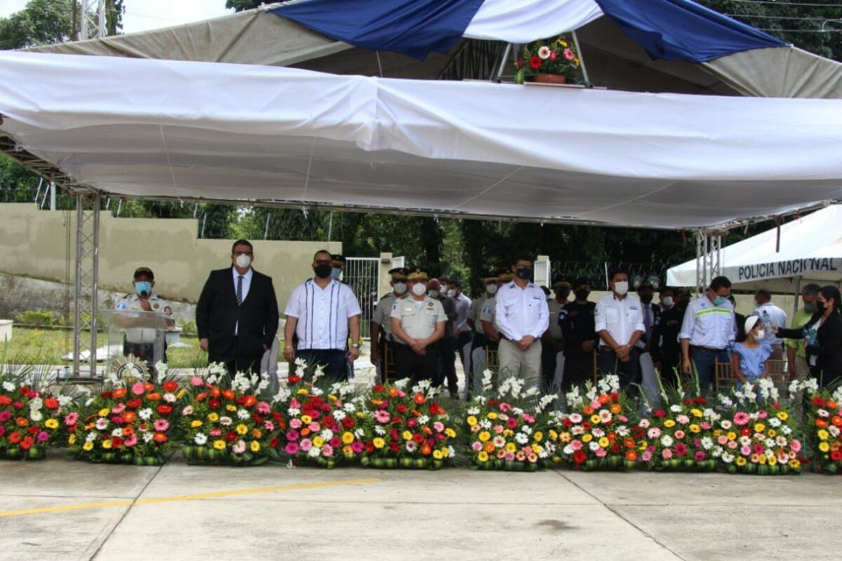 Nueva sede policial en Coatepeque